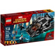 Lego Klocki konstrukcyjne Super Heroes - Black Panther Royal Talon Fighter Attack