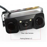 Cúvacia kamera so senzormi a s vysoko svietivými LED