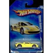 Hot Wheels 2009 09/10 Dream Garage 155/190 Yellow Porsche Carrera Gt 1:64 Scale