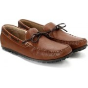 Clarks Kolin Free Tan Leather Loafers For Men(Brown)