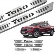 Soleira de Aço Inox Fiat Toro