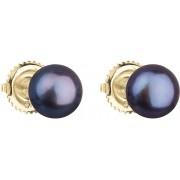 Evolution Group Cercei de aur bujor cu perle perla 921004.3 păun