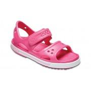 Crocs Preschool Crocband™ II Sandalen Kinder Paradise Pink / Carnation 28
