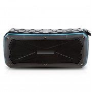 S610 Portable Wireless Speaker Bluetooth V4.1 Waterproof Stereo Sound Speaker Super Deep Bass Emergent Power Bank with Built-in Mic - Blue