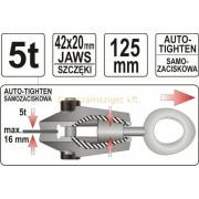 Yato Önszorító húzható pofa, egyenes 5 t(YT-2542)