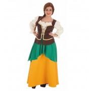 Disfraz Medieval de Masera adulta - Creaciones Llopis