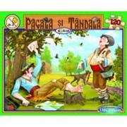 Puzzle - Pacala si Tandala (120 piese)/***
