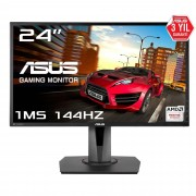 Asus 24'' 1920x1080 Full HD 1ms 144Hz DP HDMI DVI-D Vesa Gaming LED Pivot Monitör MG248QR