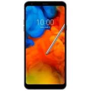 "Telefon Mobil LG Q Stylus Plus, Procesor Octa-Core 1.5 GHz, IPS LCD Capacitive touchscreen 6.2"", 4GB RAM, 64GB Flash, 16MP, 4G, Wi-Fi, Dual SIM, Android (Negru) + Cartela SIM Orange PrePay, 6 euro credit, 6 GB internet 4G, 2,000 minute nationale si intern"
