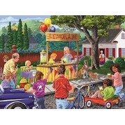 Neighborhood Lemonade Stand 300 Piece Jigsaw Puzzle by SunsOut