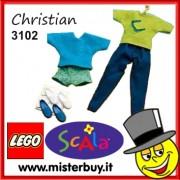 LEGO SCALA 3102 SET DI ABITI CHRISTIAN