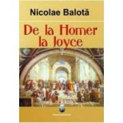 De La Homer La James Joyce - Nicolae Balota