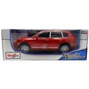 Porsche Cayenne Red Special Edition 1:18 Scale Diecast Model by Maisto
