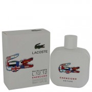 Lacoste Eau De Lacoste L.12.12 Energized Eau De Toilette Spray 3.3 oz / 97.59 mL Men's Fragrances 540491