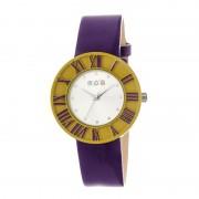 Crayo Prestige Unisex Watch - Yellow/Purple CRACR3104