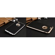 Apple iPhone 7 Plus / iPhone 8 Plus (калъф hybrid) 'Brushed with hole for the Apple'