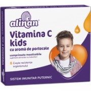 Alinan vitamina c kids aroma portocale 20cpr FITERMAN