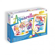 SentoSphere Aquarellum - Fashion Design Magical Girls - Arts and Crafts Watercolor Paint Set