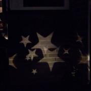 Kaemingk Christmas Light Stars Projector LED Cool White