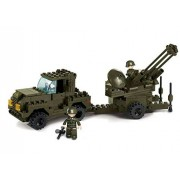 AFM block series AIR FORCE anti-aircraft cannon 4WD vehicle