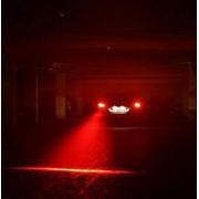AST Works Hot Car LED Laser Fog Light Vehicle Anti-Collision Tail-Light Brake Warning Lamp