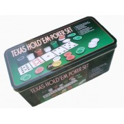 Комплект за Покер /Texas hold'em poker set/-200
