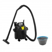 ulsonix Bidone aspiratutto senza sacchetto - 1.000 W - 10 l - Per uso professionale