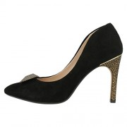 Clarks Women's Azizi Isobel Black Pumps - 4 UK