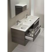 Ansamblu mobilier Riho cu lavoar dublu 140cm gama Broni, SET 20 Standard