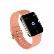 LEMONDA X2 1.3-inch Touch Screen Smart Bracelet Wristband Fitness Tracker Heart Rate Monitor - Pink