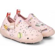 Pantofi Fete Bibi FisioFlex 4.0 Happy Place Camelia Lycra 21 EU