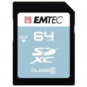 Cartão De Memória Emtec Classic Class 10 SD - ECMSD64GXC10CG - 64GB