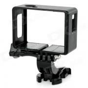 Soporte de marco de camara + j-base para SJCAM SJ4000 / SJ6000 - negro