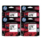 HP 678 Black Ink Advantage Cartridge (CZ107AA) Pack 0f 60 Numbers