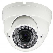 OWLGUARD Standard ONVIF 4MP 2.812IP Dome Color Blanco con 42leds para cámara 32m