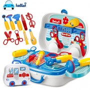 FunBlast® Doctor Kit Toys for kids,Doctor Kit Pretend Play Doctor Play set Medical Carry case Nurses Toy Set Fun Toy Gift Early Education For Kids