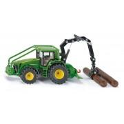 SIKU Farmer - Tractor forestier John Deere, 1:50
