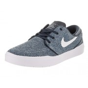 Nike Men's SB Janoski Hyperfeel Mesh Obsidian/White/Industrial Blue Skate Shoe 8. 5 Men US