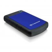 Hard disk extern Transcend StoreJet 25H3B 2TB 2.5 inch USB 3.0 Blue