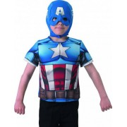 Vegaoo Plastron Captain America Hemdbrust für Kinder aus The Winter Soldier