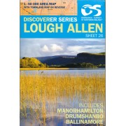Wandelkaart 26 Discoverer Lough Allen | Ordnance Survey Northern Ireland