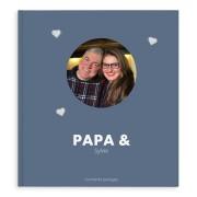 YourSurprise Album photo Fête des Pères - Papa & Moi - XL - Couverture rigide - 40 pages
