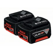 Комплект акумулатори GBA 14,4 V 4,0 Ah M-C, 2 x 4,0 Ah, 1600Z00044, BOSCH