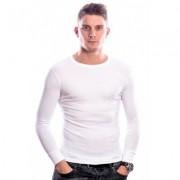 Beeren Men T-Shirt Lange Mouw Wit ( 3 pack)