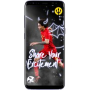 Samsung Galaxy S8+ - 64GB - Inclusief Rode Duivels Smart Cover - Zilver