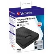 HDD Extern Verbatiim Fingerprint Secure 2TB AES USB 3.1 GEN 1 2.5 Inch