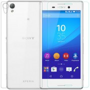 Front Back Tempered Glass Protector HD Quality For Sony Xperia M4 Aqua