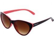 The Blue Pink UV Protected Cat-Eye Women Sunglasses (CAT-0302Brown Lens)