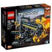 Конструктор ЛЕГО ТЕХНИК - Колесен екскаватор с кофа, LEGO Technic, 42055