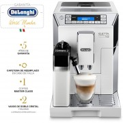 Cafetera DeLonghi Super Automatica Eletta Ecam 45.760.W